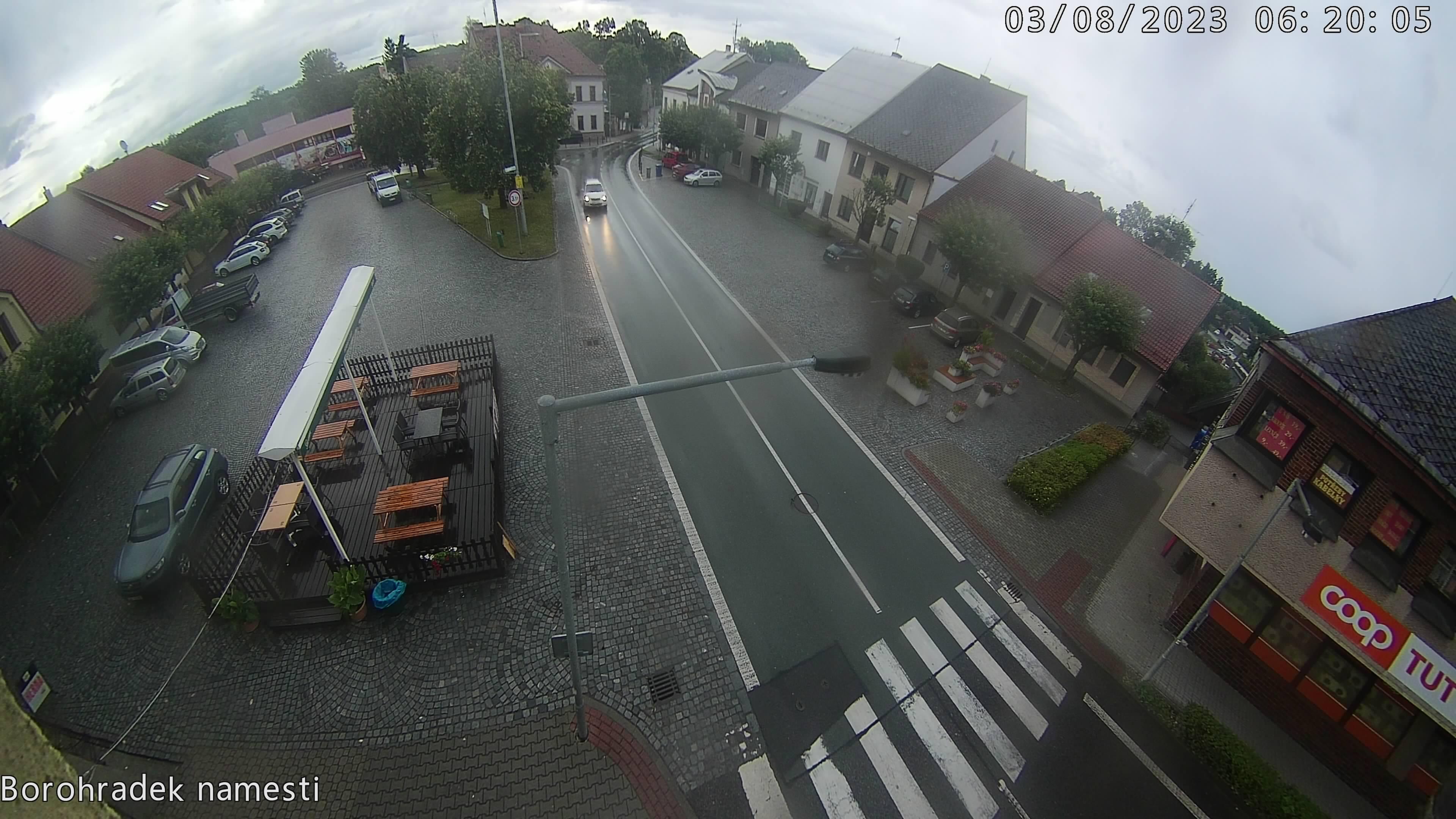 Borohrádek - Náměstí